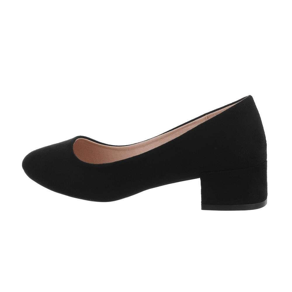Pantofi clasici pentru femei - negre