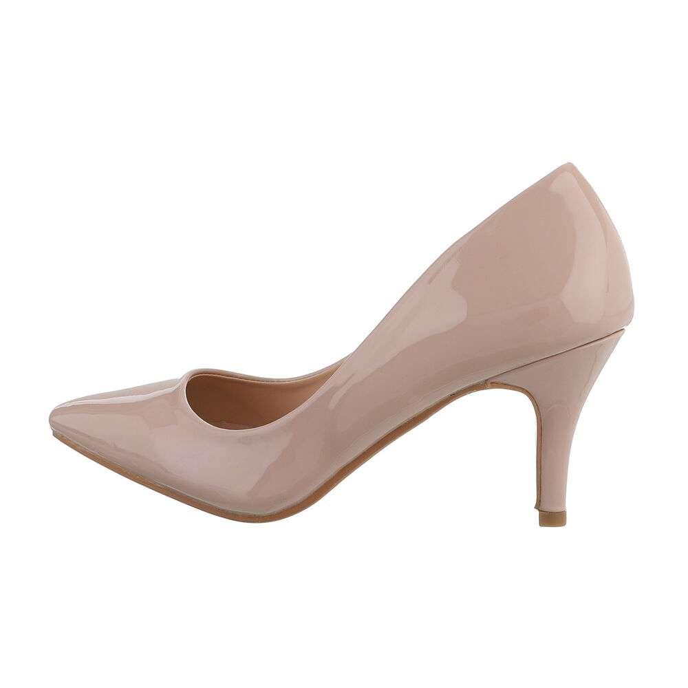 Pantofi clasici pentru femei - nud