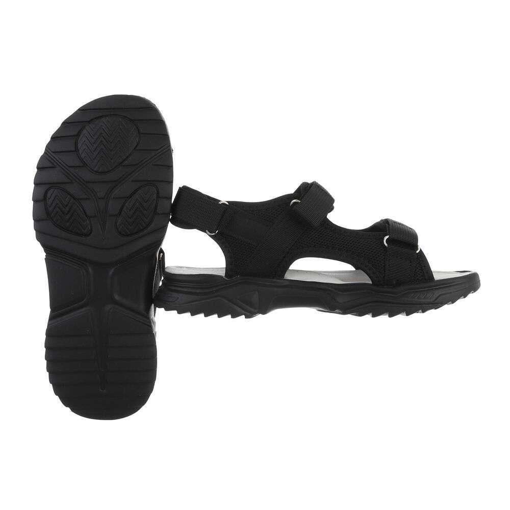 Sandale ortopedice pentru copii - negre - image 2