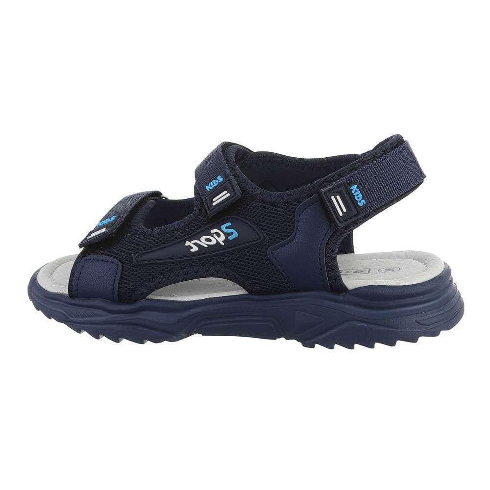 Sandale ortopedice pentru copii - albastru