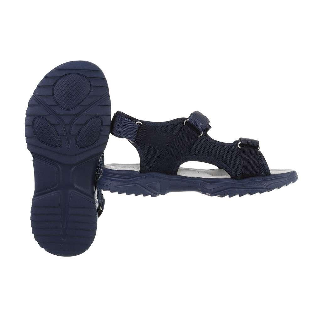Sandale ortopedice pentru copii - albastru - image 2