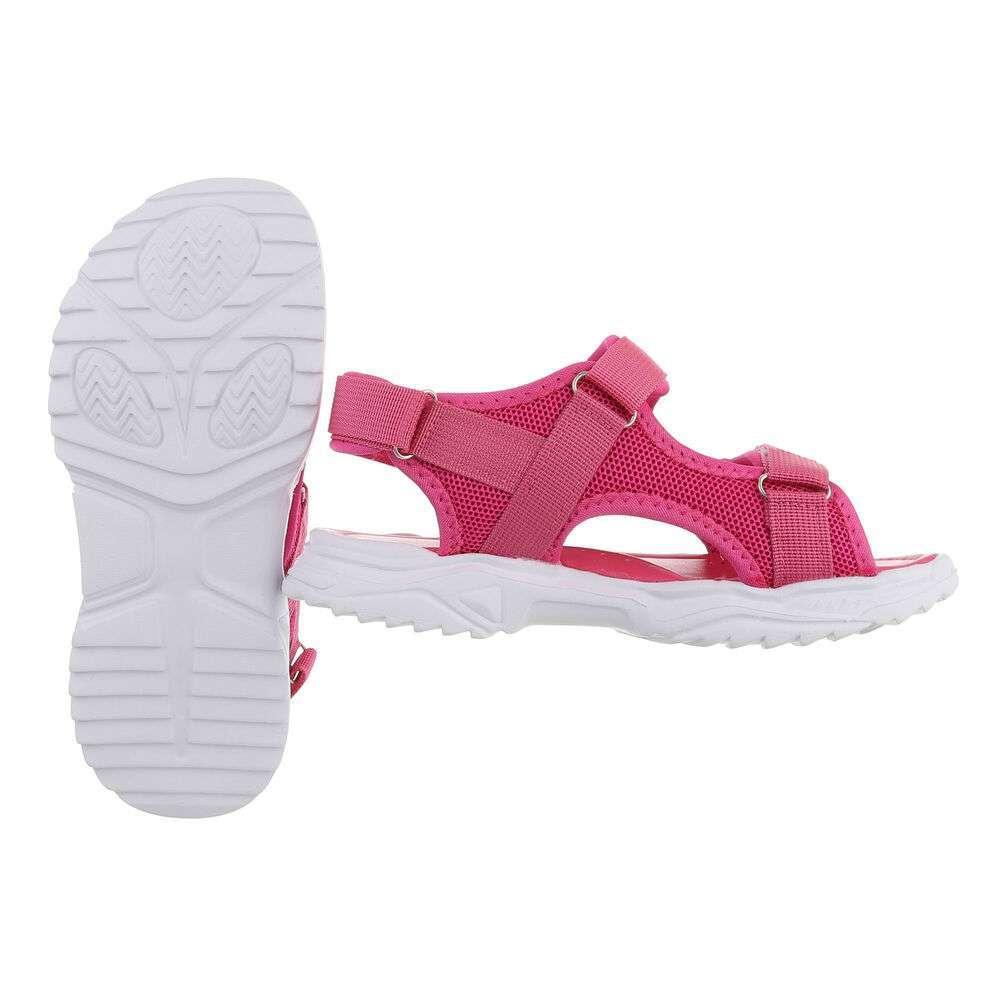Sandale ortopedice pentru copii - fuchsia - image 2