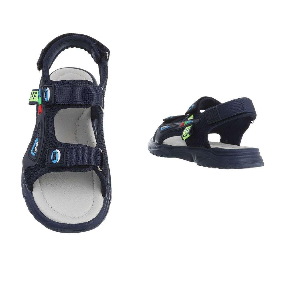 Sandale ortopedice pentru copii - albastru - image 3