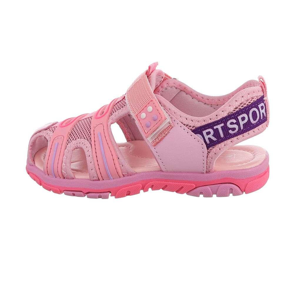 Sandale ortopedice pentru copii - roz