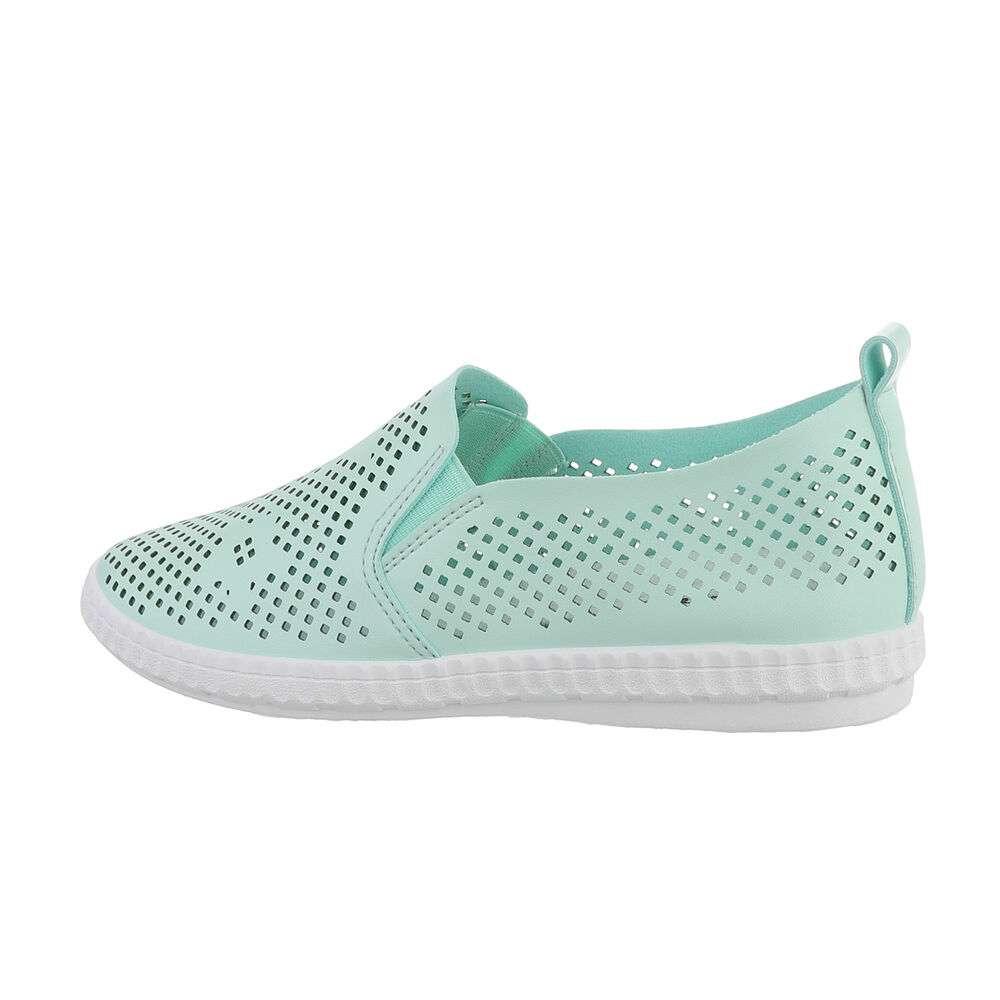 Papuci de damă - verzi