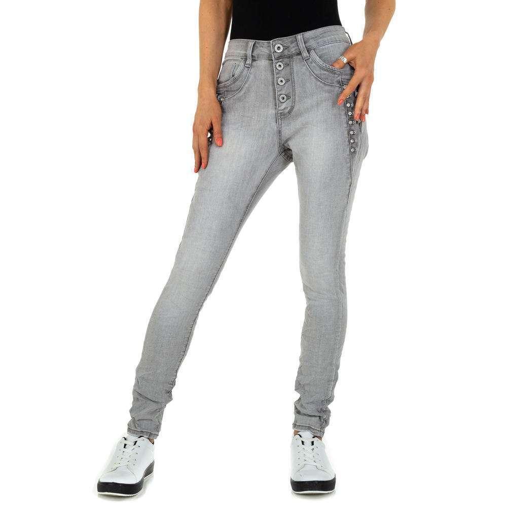 Blugi iubiți de femei Jewelly Jeans - lgrey