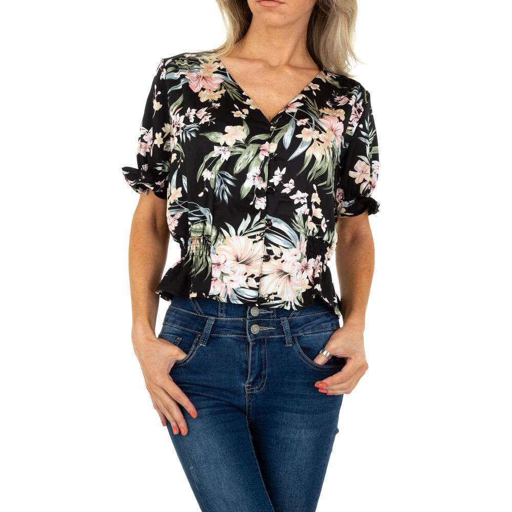 Блуза женская от Voyelles - черная