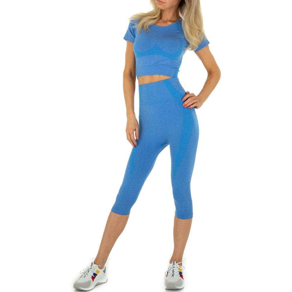 Damen Jogging- & Freizeitanzug von Holala Gr. One Size - albastru