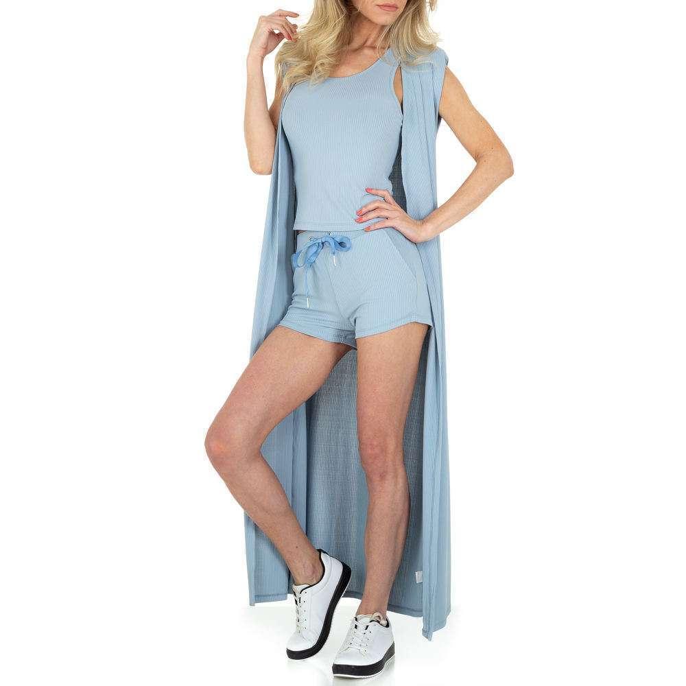 Costum de jogging și agrement pentru femei de Emma & Ashley - albastru