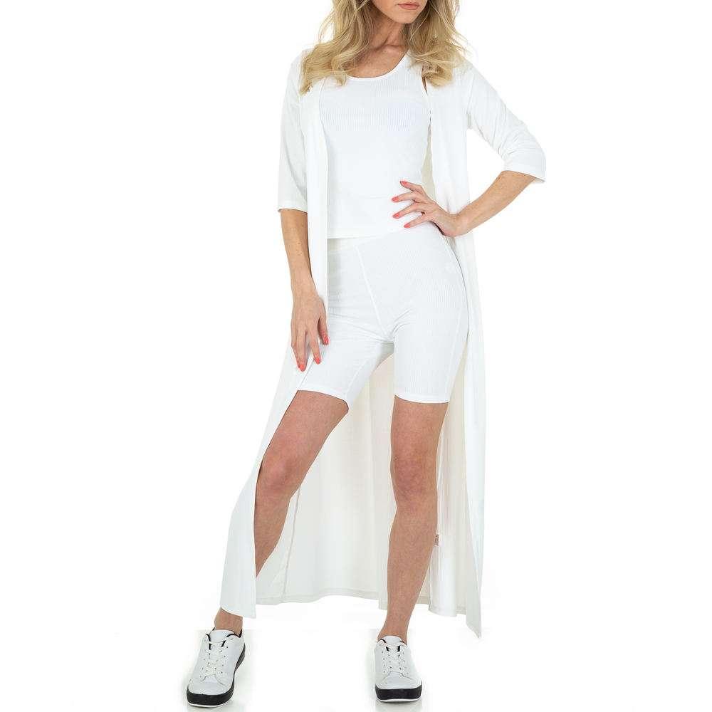 Costum de jogging și agrement pentru femei de Emma & Ashley - alb