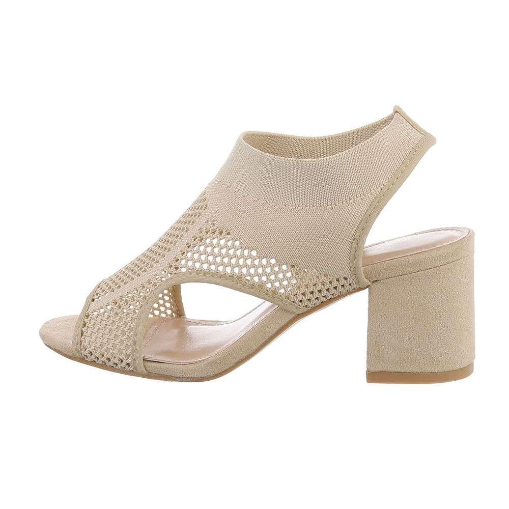 Sandale de dama - bej