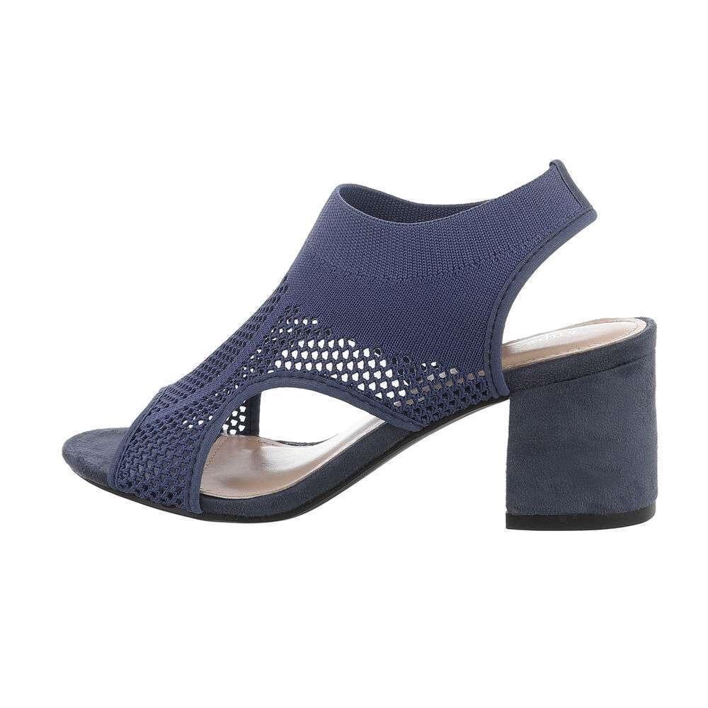 Sandale de dama - albastre