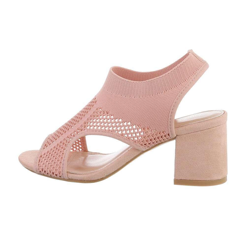 Sandale de dama - roz