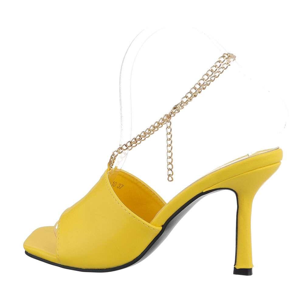 Sandale de dama - galbene