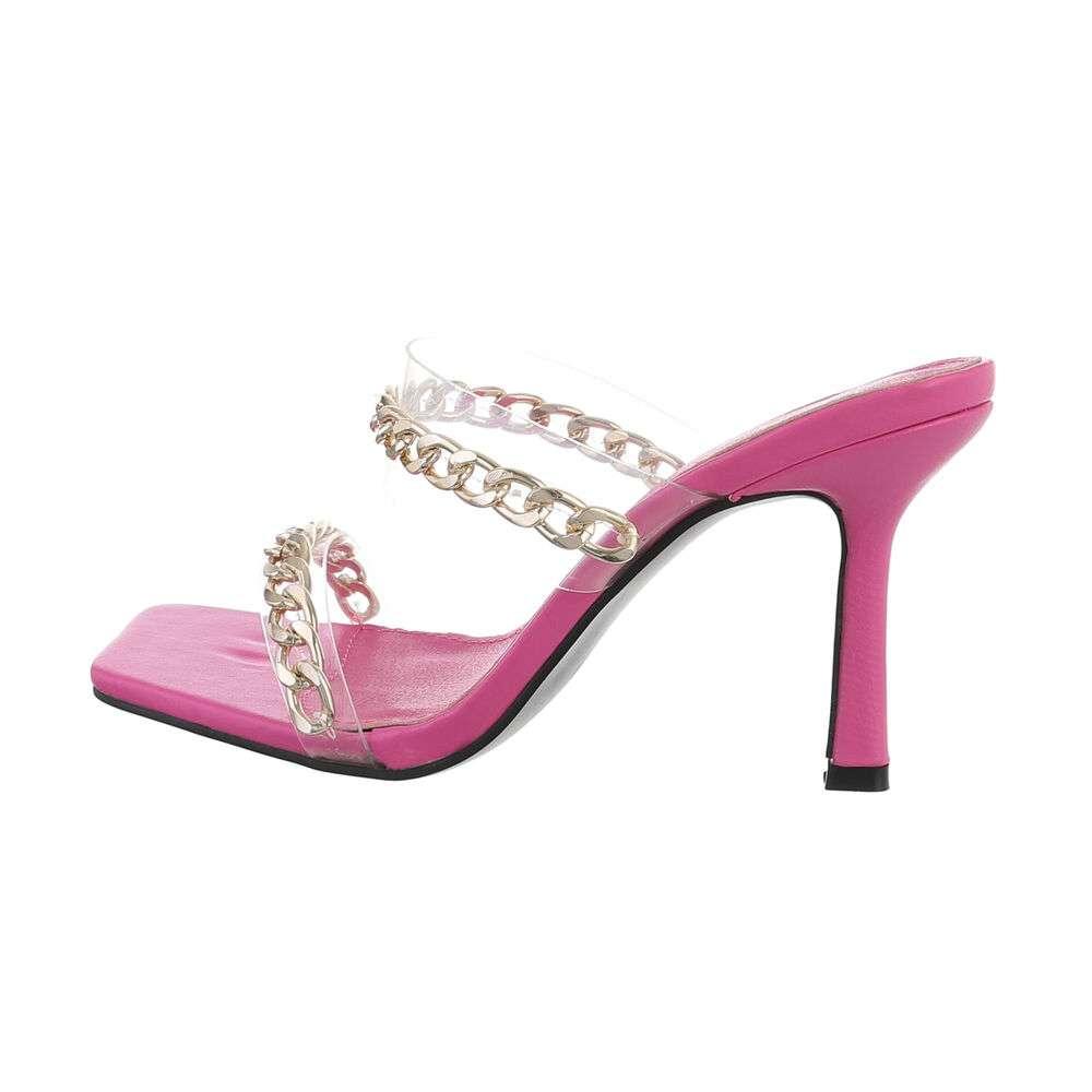 Sandale de dama - fushia