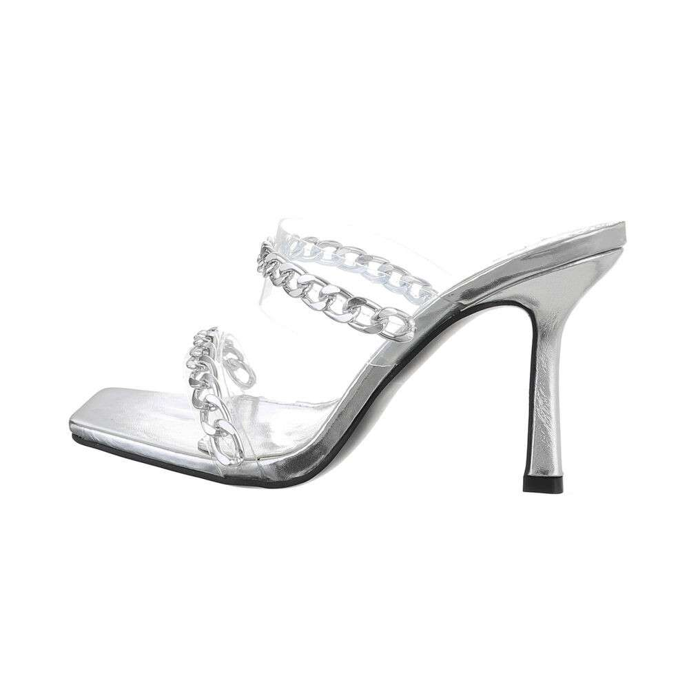 Sandale pentru femei - argintii