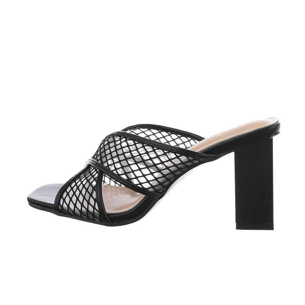 Sandale de dama - negre