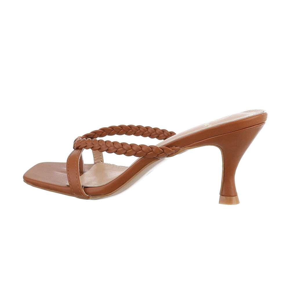 Sandale pentru femei - cămilă
