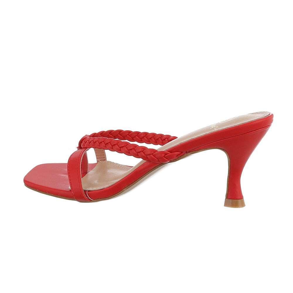 Sandale de dama - rosii