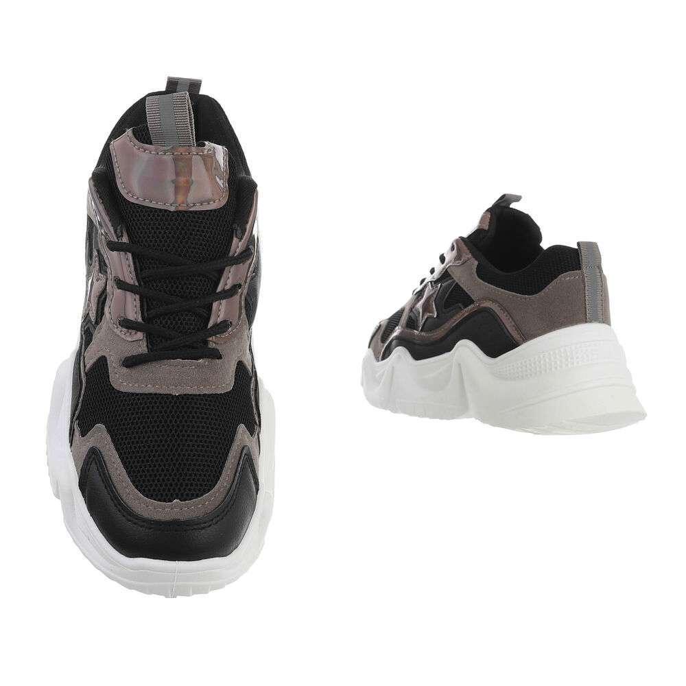 Pantofi sport de damă - negri - image 3