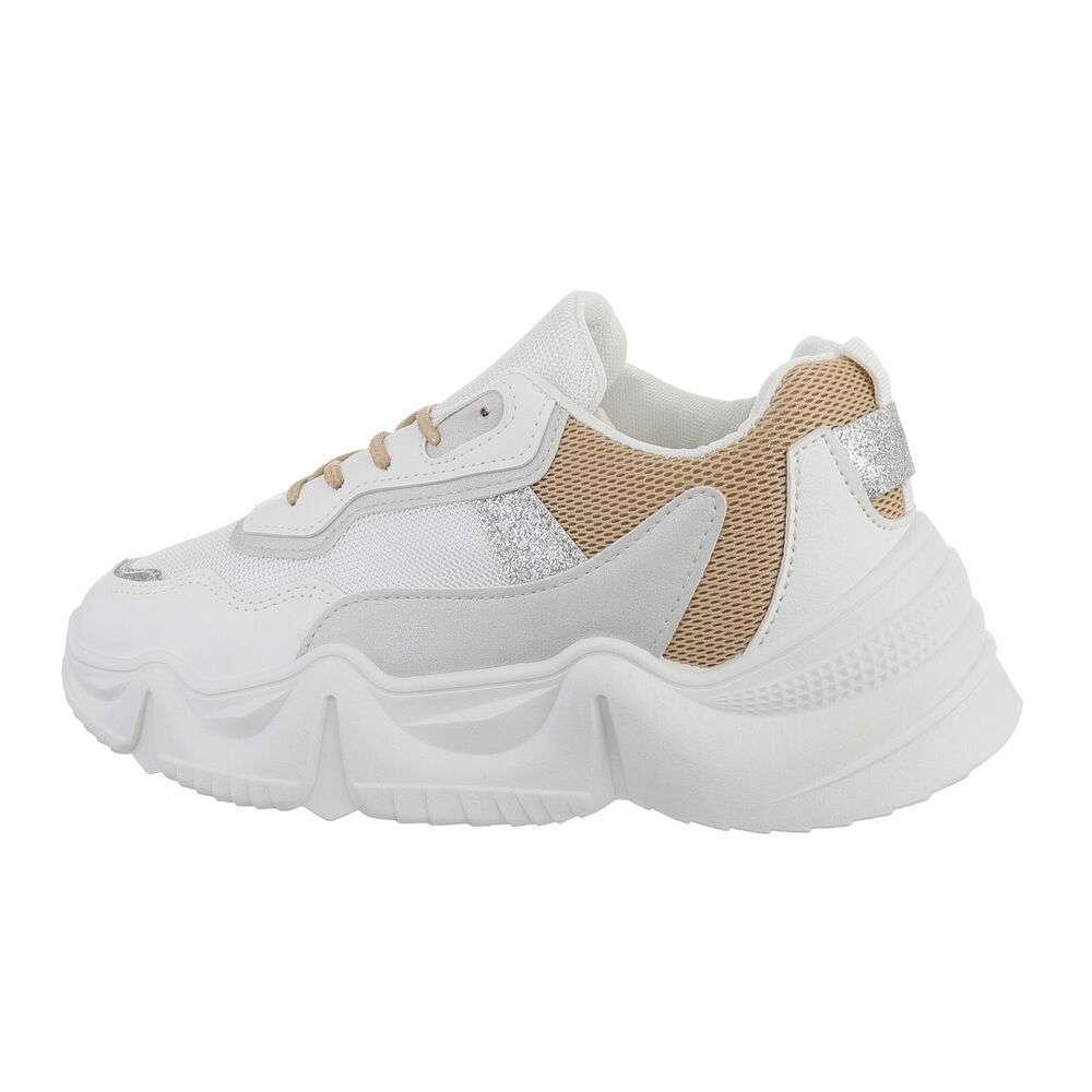 Pantofi sport pentru femei - bej