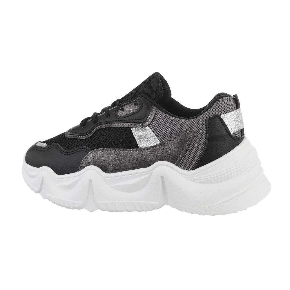 Pantofi sport de damă - negri - image 1