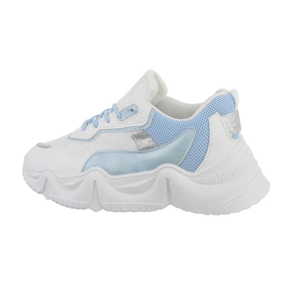 Pantofi sport pentru femei - albastru