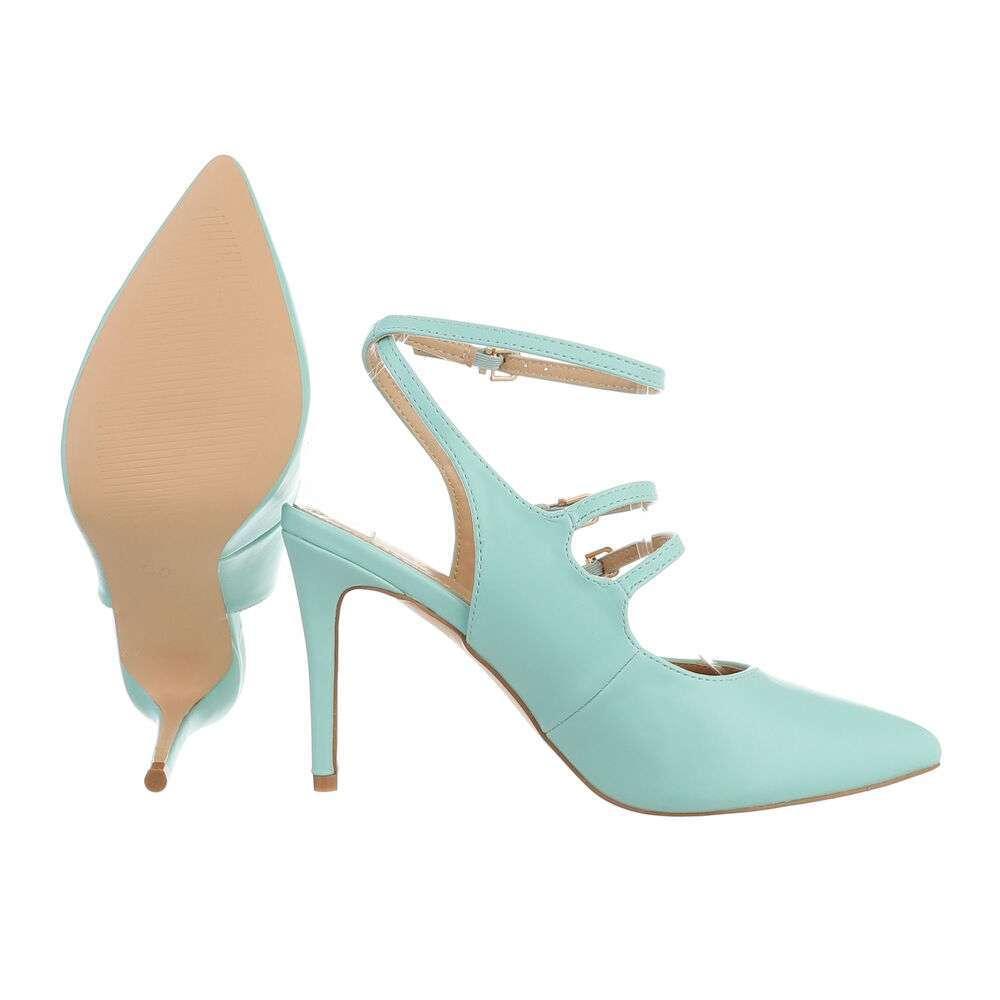Pantofi cu toc înalt pentru femei - deschis  verde - image 2