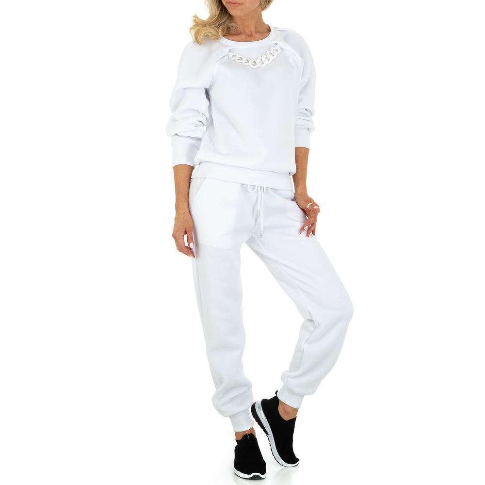 Costum de jogging și agrement pentru femei de Emma & Ashley Design - alb