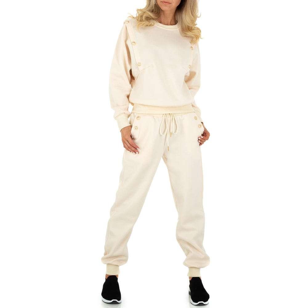 Costum de jogging și agrement pentru femei de Emma & Ashley - bej
