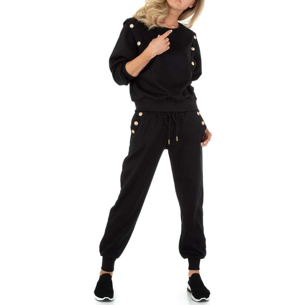 Costum de jogging și agrement pentru femei de Emma & Ashley - negru
