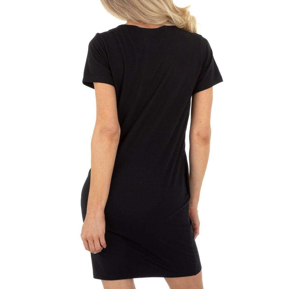 Mini rochie de dama Glo Story - neagra - image 3
