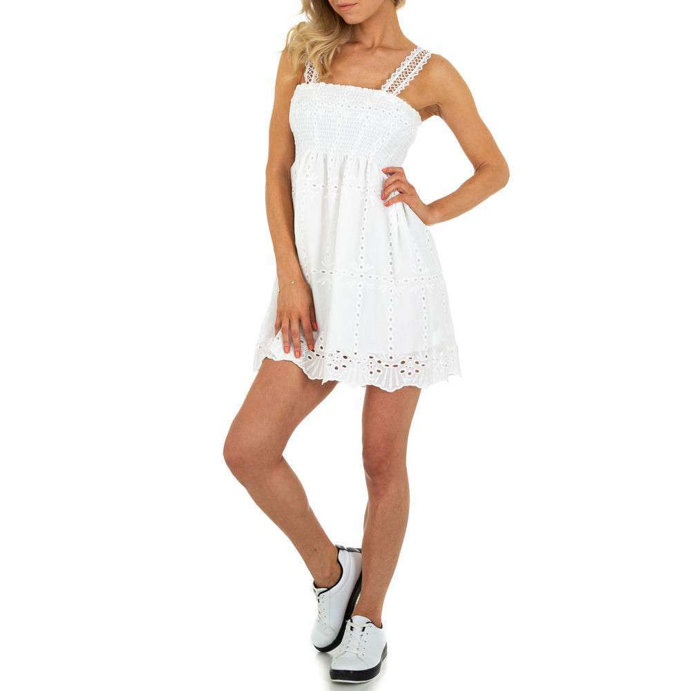 Женское мини-платье SHK Paris - белое