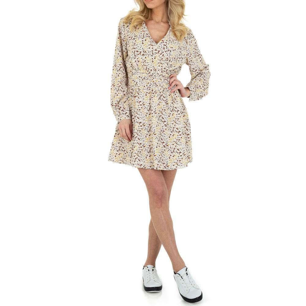 Rochie de bluză pentru femei de SHK Paris - albă