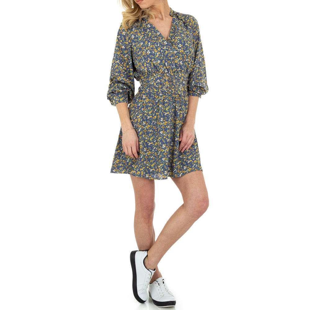 Rochie de bluză pentru femei de SHK Paris - albastră