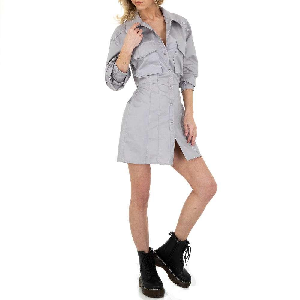 Rochie mini pentru femei de la SHK Paris - gri