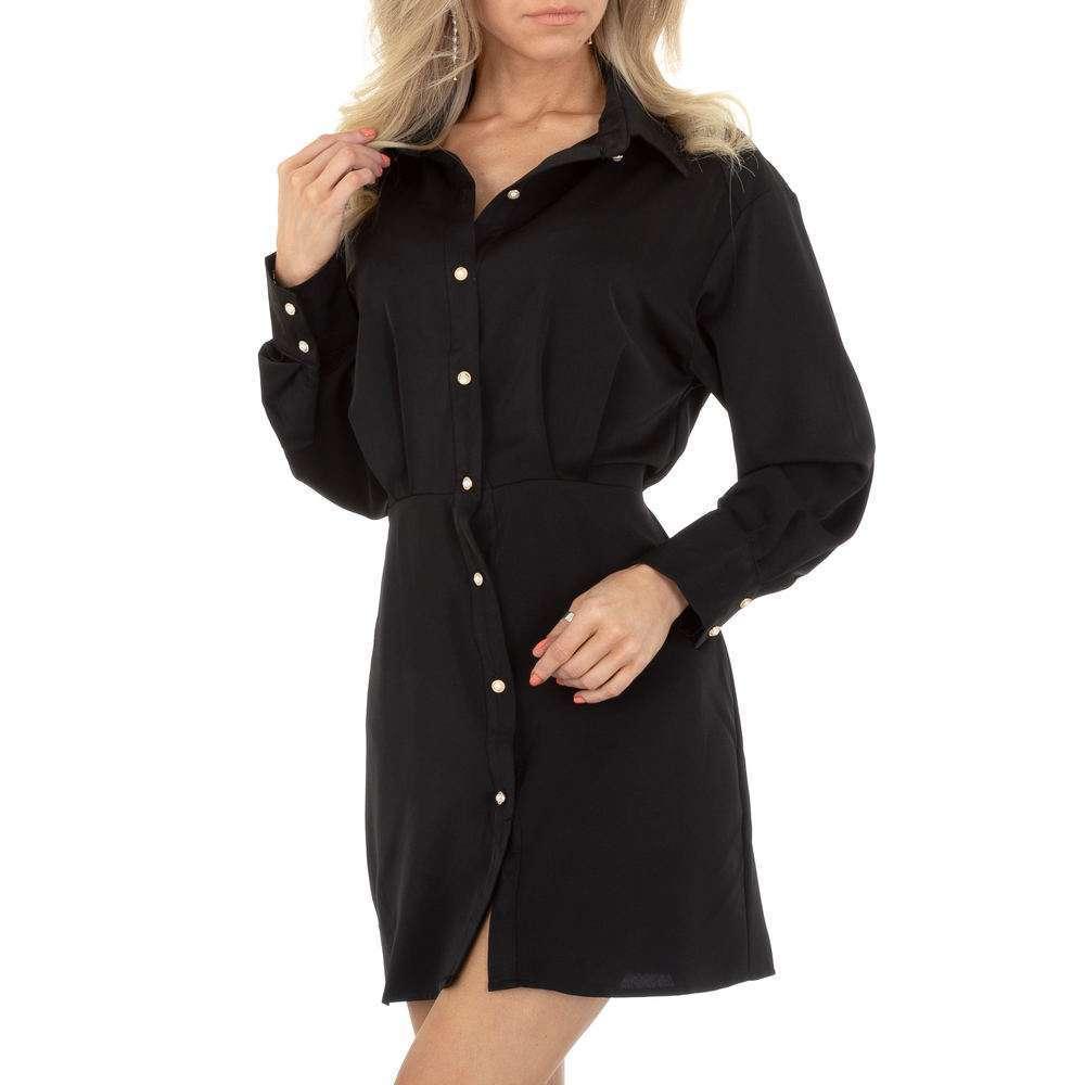 Rochie de bluză pentru femei de SHK Paris - neagră