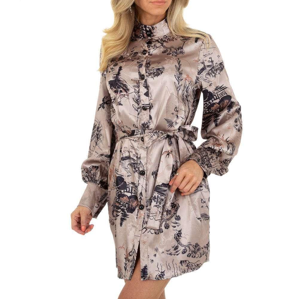 Damen Sommerkleid von SHK Paris - taupe