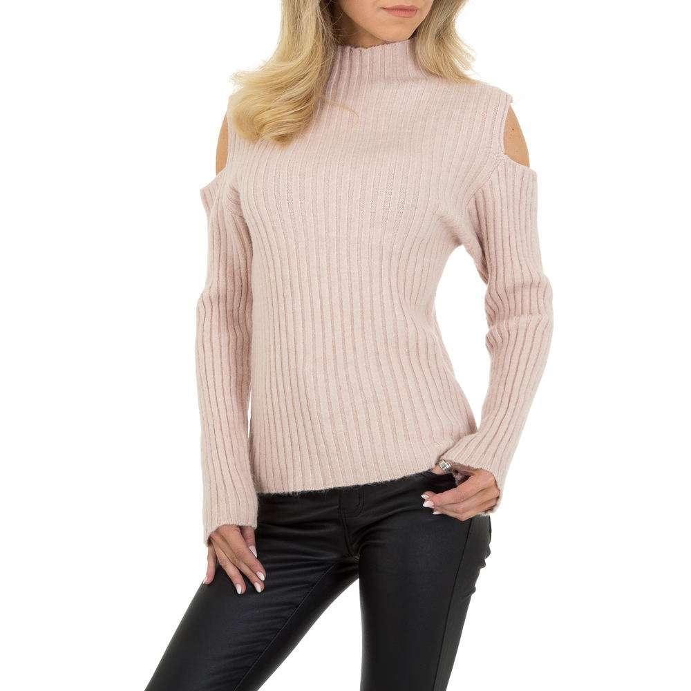 Pulover tricotat pentru femei de JCL Gr. O singură mărime - LT.rose