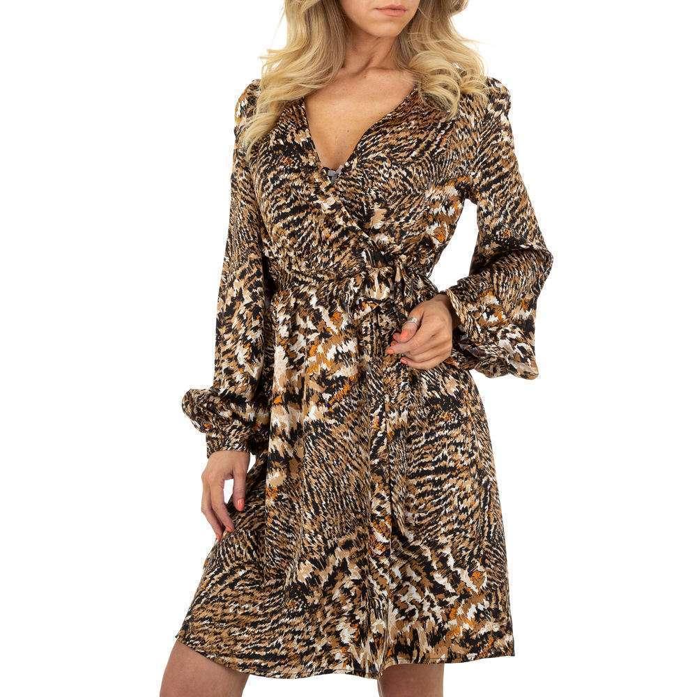 Rochie de bluză pentru femei by JCL - taupe
