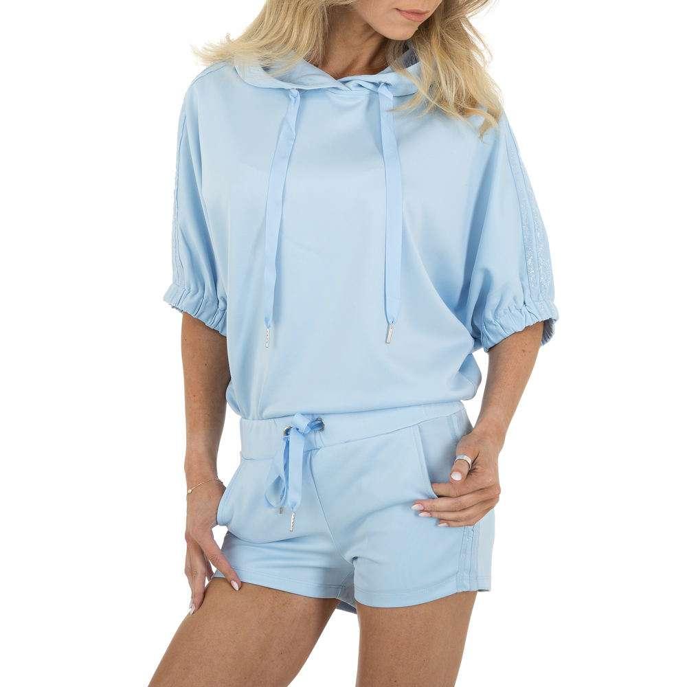 Costum de jogging și agrement pentru femei marca Emmash - albastră