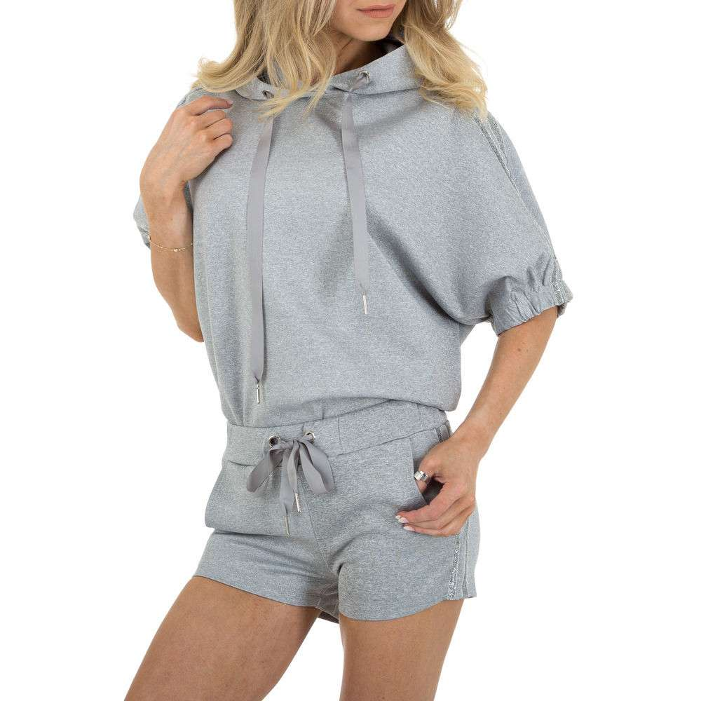 Costum de jogging și agrement pentru femei marca Emmash - gri