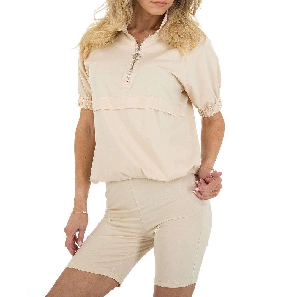 Costum de jogging și agrement pentru femei marca Emmash - bej