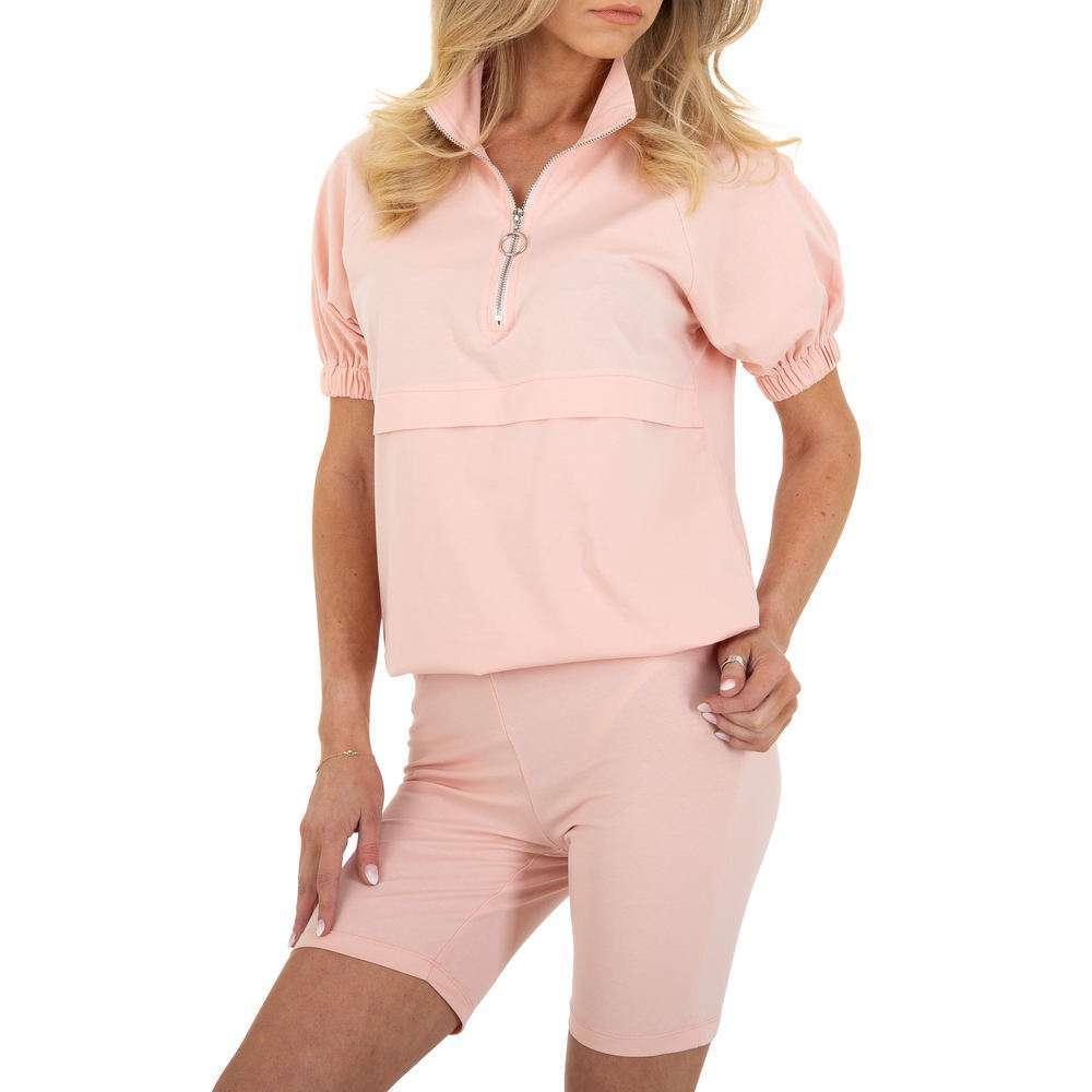 Costum de jogging și agrement pentru femei marca Emmash - roz