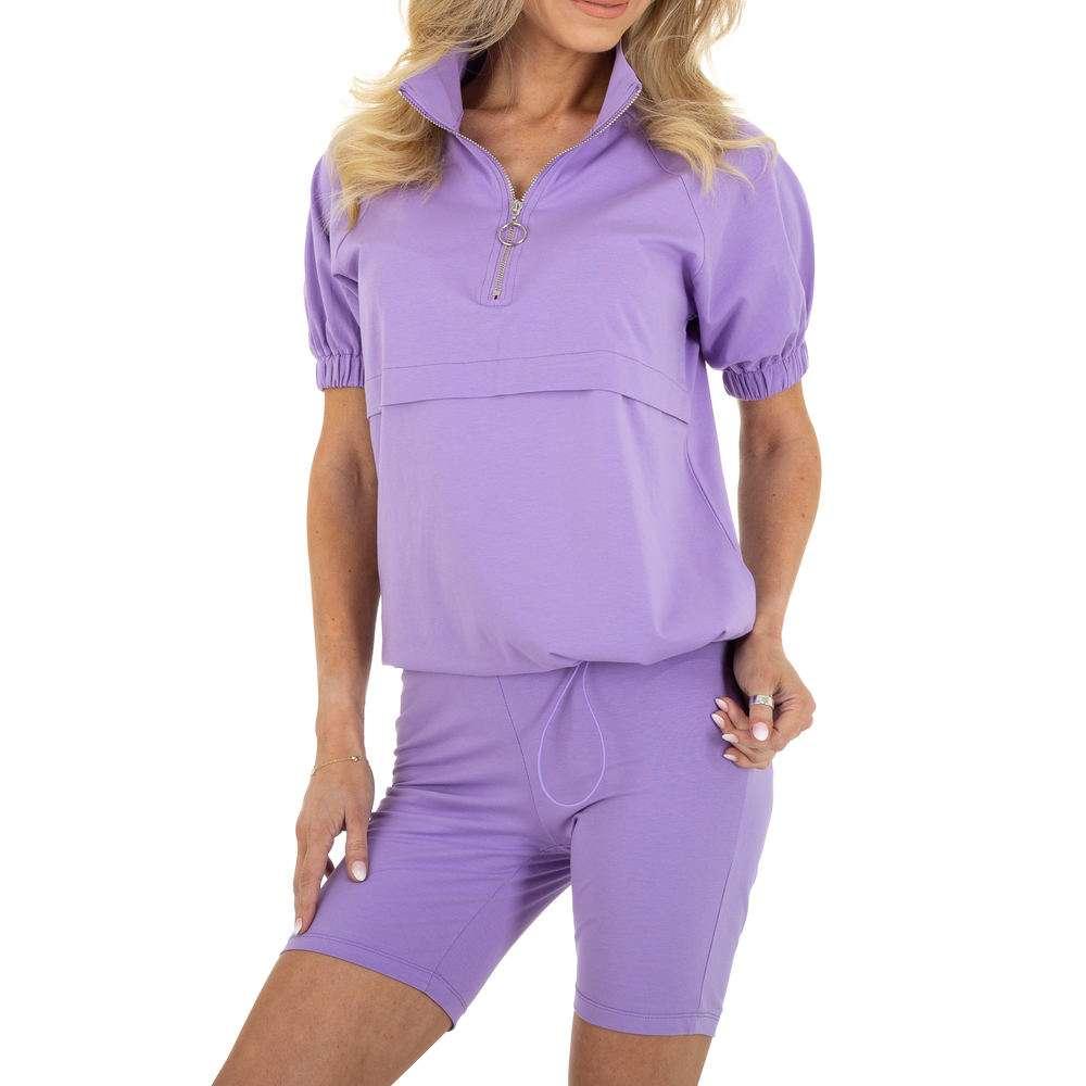 Costum de jogging și agrement pentru femei marca Emmash - purple