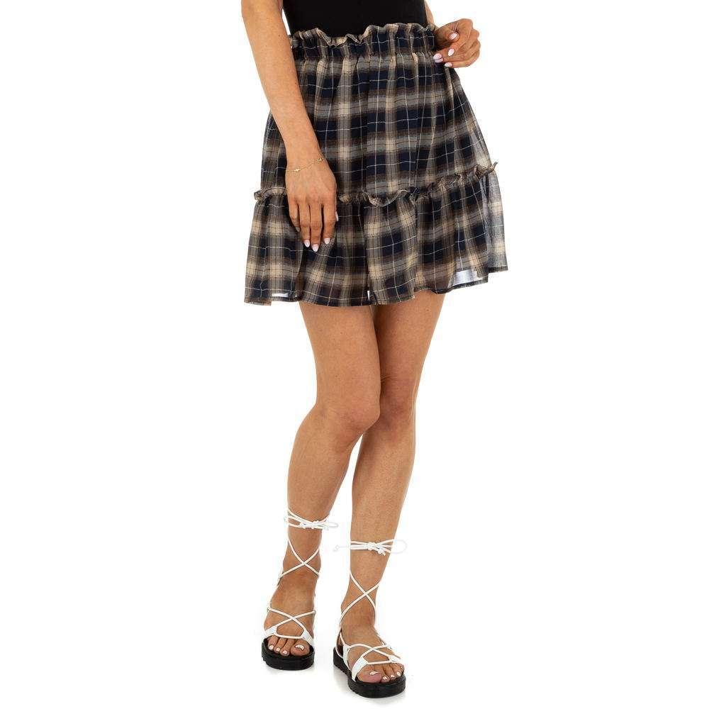 Fustă Mini pentru femei marca Drole de Copine - bej