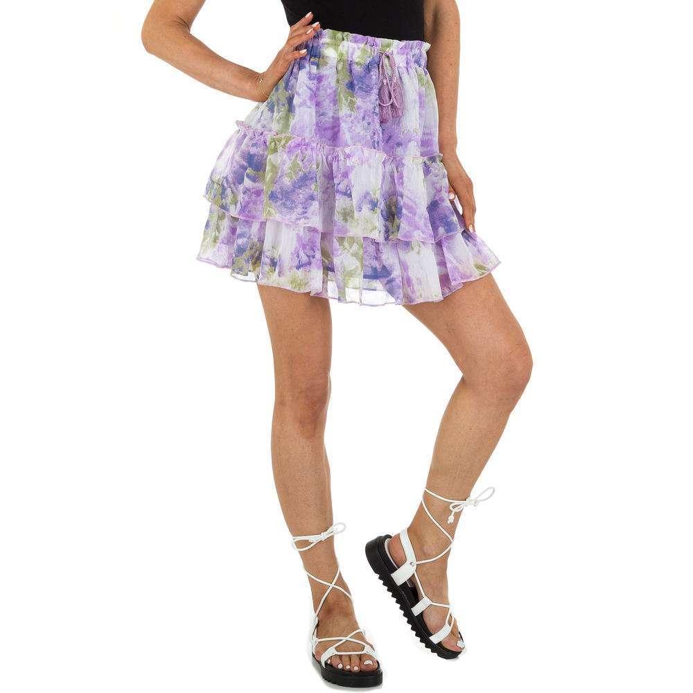 Fustă Mini pentru femei marca Drole de Copine - lila