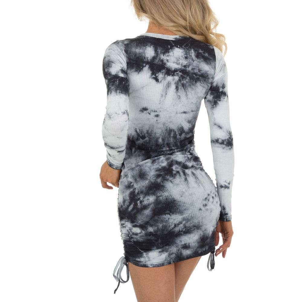 Rochie de vară marca Drole de Copine - neagră - image 3