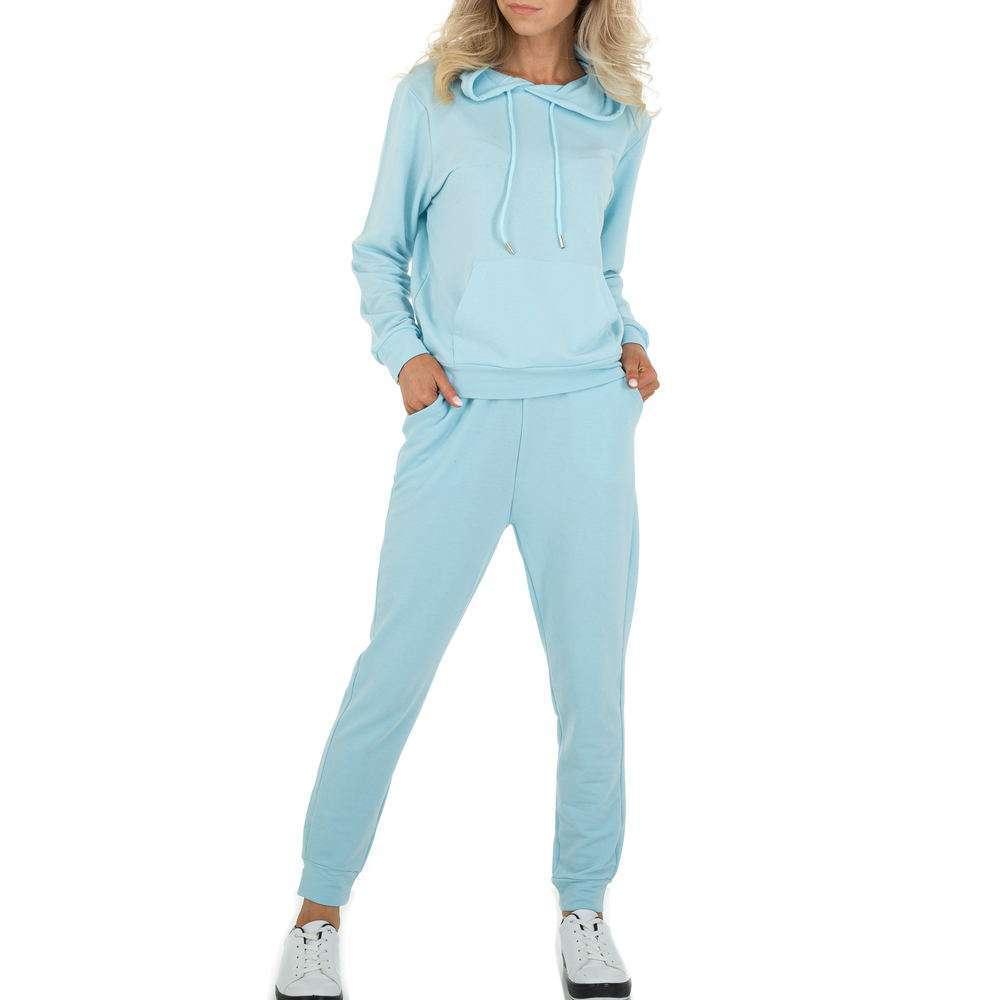 Costum de jogging și agrement pentru femei marca Holala - albastră