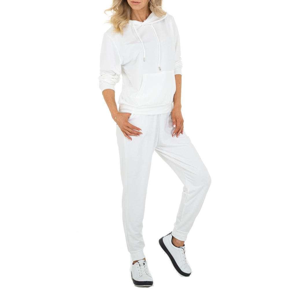 Costum de jogging și agrement pentru femei marca Holala - albă